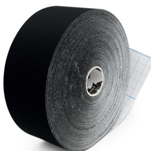 Biomechanical Tape - Athlos Tape - 5 cm x 32 m - Special Edition for SPORTS & Performance by Rockford Kinesiology - Black Color