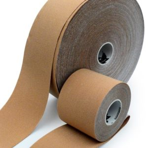 Gold Edition Kinesiology Tape for SPORTS - Synthetic Fibers by Rockford Kinesiology - Beige Color - 5cm x 32m
